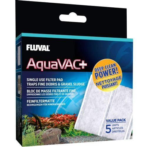 Fluval AquaVac+ Replacement Filter Pads (5 Pack)